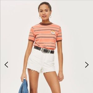 TopShop high waisted mom shorts